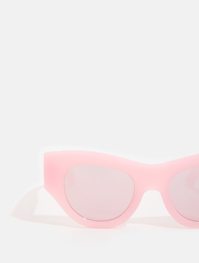 Empire: Pink Chunky Cat Sunglasses - Classier