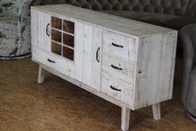 Load image into Gallery viewer, TNC Recycled Fir Sideboard with 3 Drawers and 2 doors,