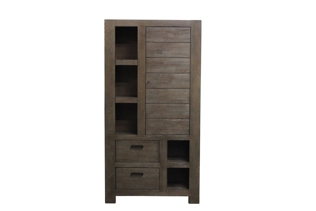 TNC Solid Wood Large Bookcase