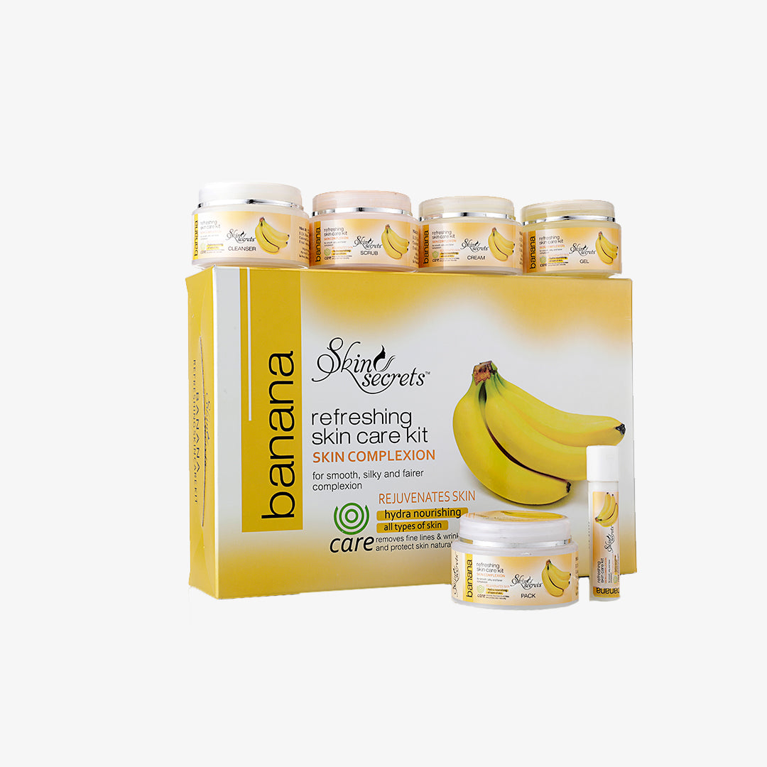 Banana Facial Kit