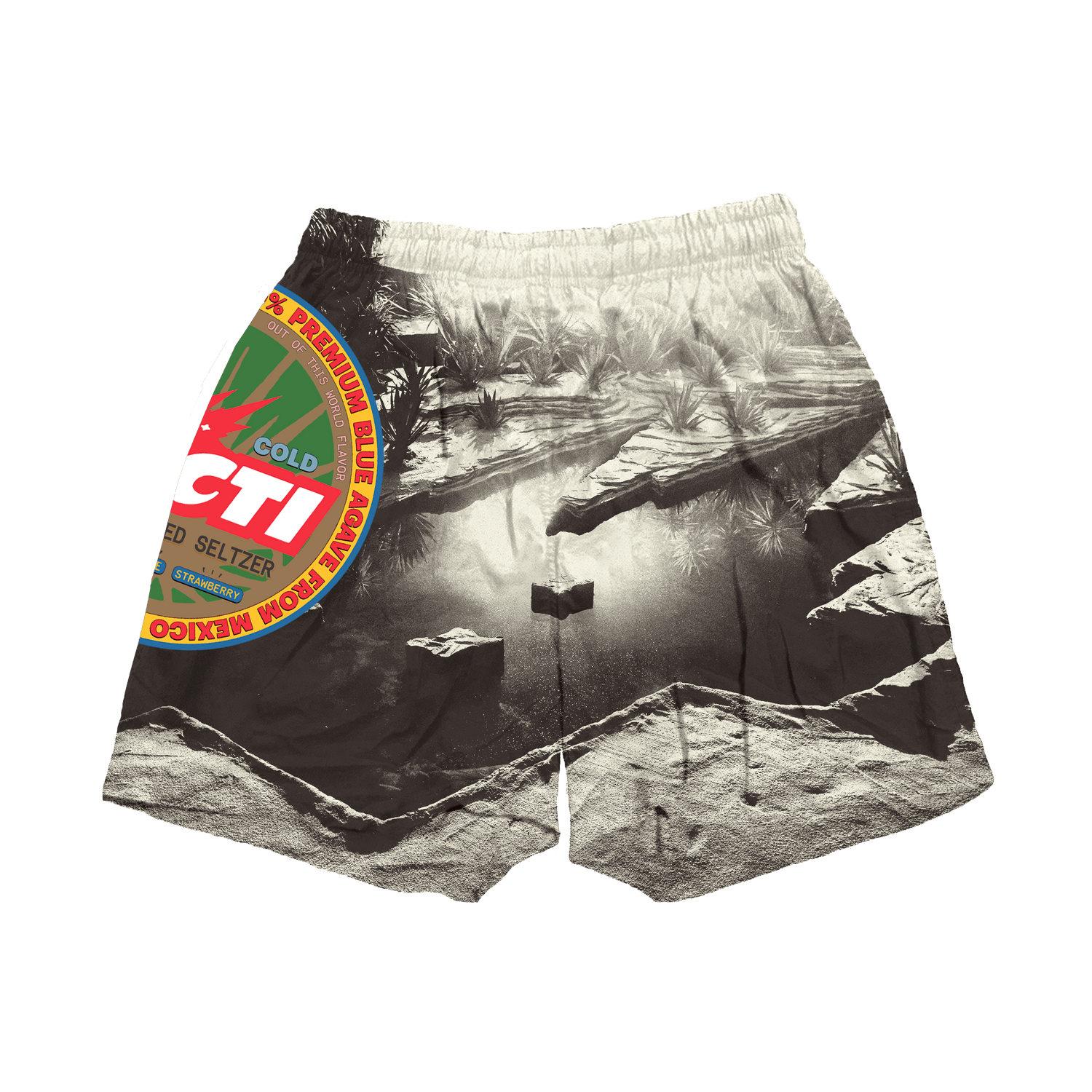 CACTI OASIS OUTDOOR SHORTS