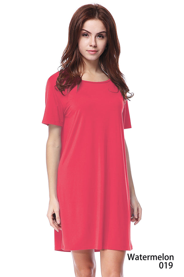 Bamboo Short Sleeve Dress (6 Pack) - TPP2448