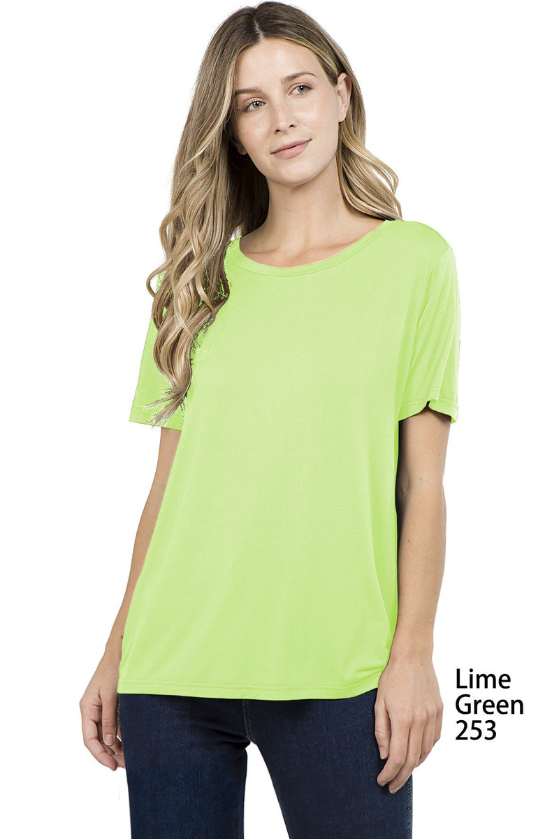 Bamboo Regular Fit Short Sleeve Top (6 Pack) - TPP2452002