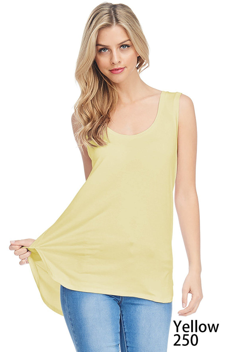 Bamboo Tank Top (6 Pack) - TPP2771