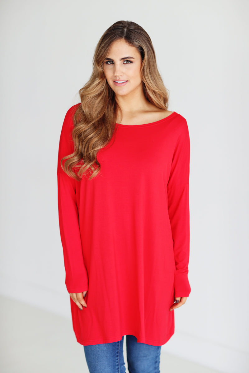 Bamboo Long Sleeve Tunic (6 Pack) - TPP2194