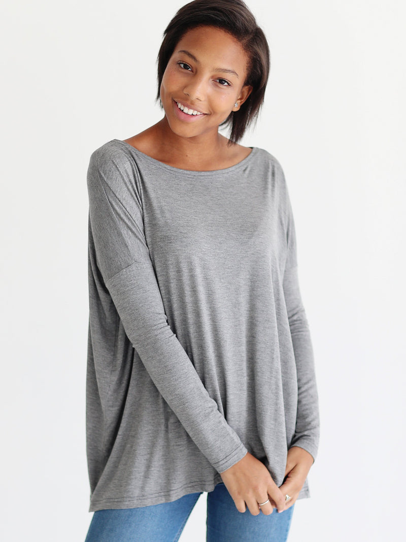 Bamboo Long Sleeve Top (6 Pack) - TPP1851