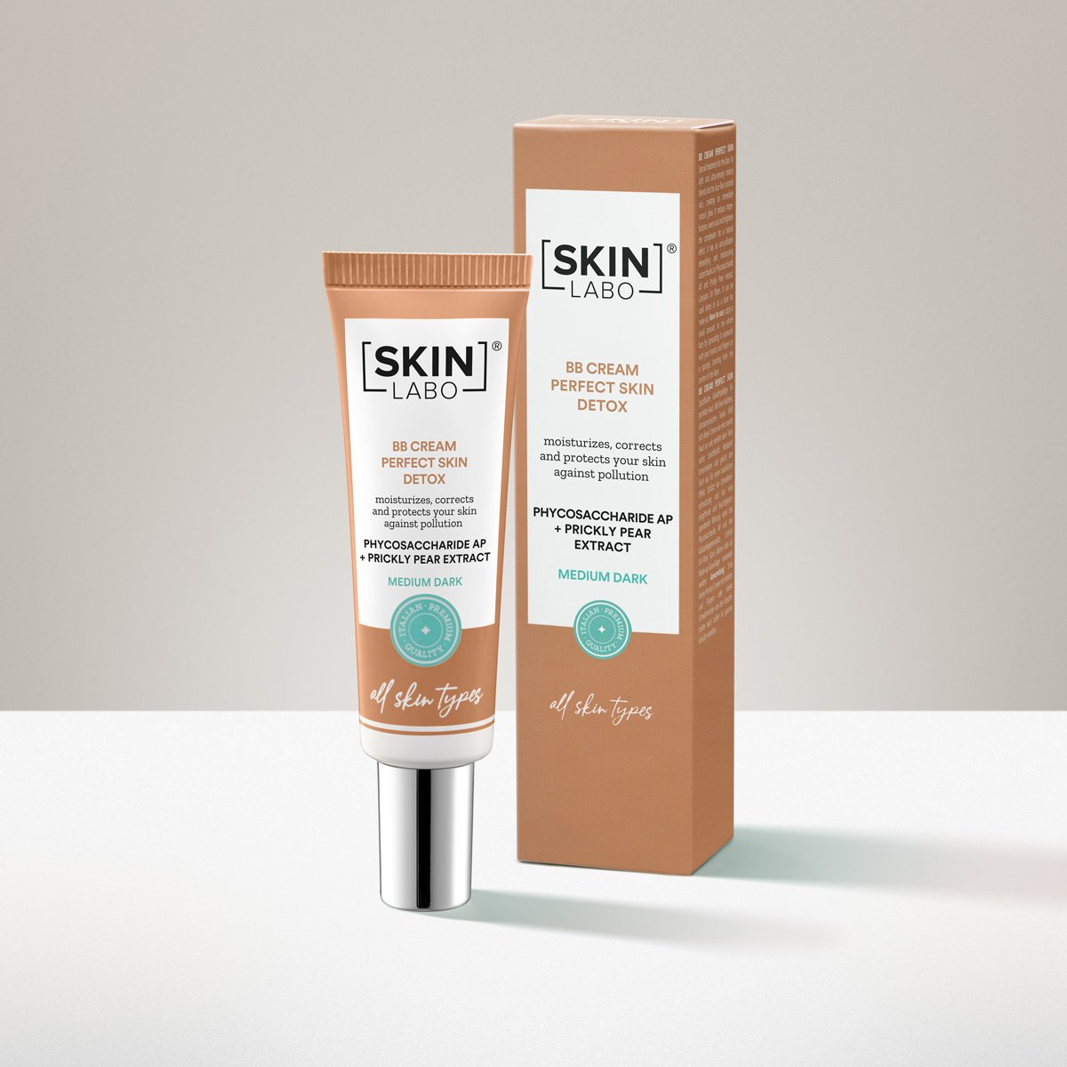 BB CREAM PERFECT SKIN - ŚREDNI CIEMNY