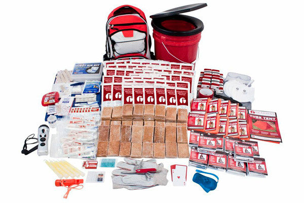 10 Person Guardian Deluxe Survival Kit - Survival Kit - TrueSurvivalKit.com