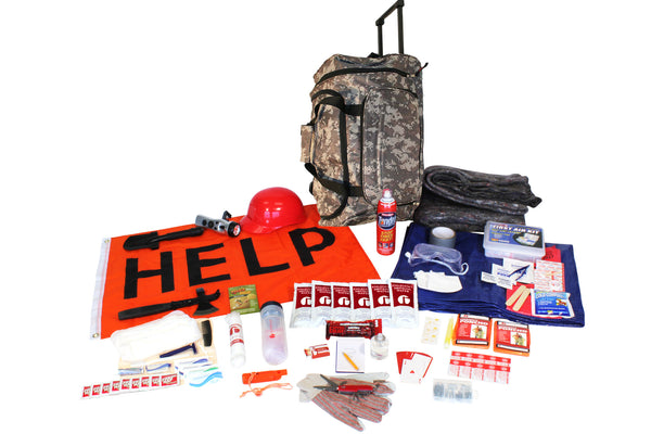 Wildfire Emergency Kit in Camo - Survival Kit - TrueSurvivalKit.com