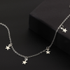 「order」star necklace gold/silver n023