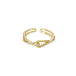 knot twist ring r032