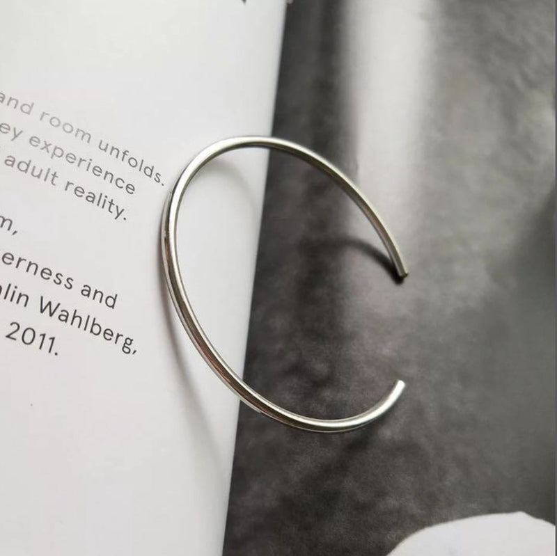 「order」simple plain bangle SV925 b001