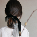 「order」velvet ribbon hair rope h015