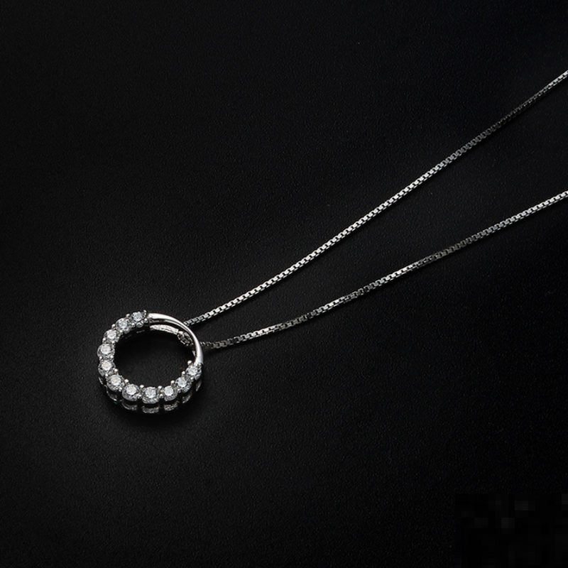 「order」zircon ring necklace n024