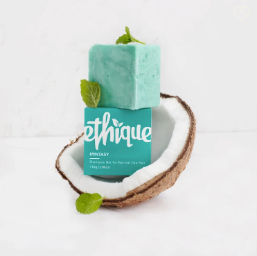 Ethique Shampoo Bar - Mintasy for Normal/Dry Hair 呵護損傷洗髮芭