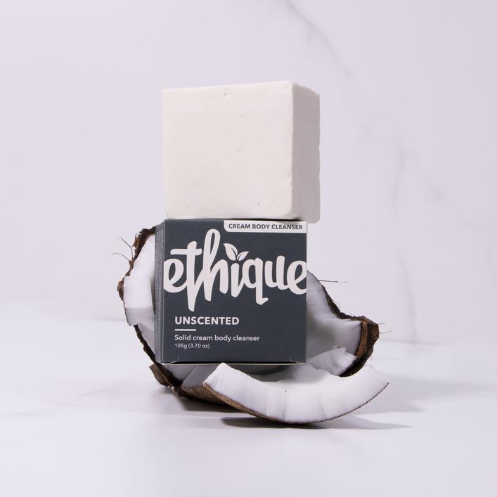 Ethique Body Care - Unscented Solid Cream Body Cleanser 無味滋潤沐浴芭