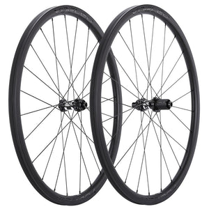 Carbon Tubular Cyclocross Disc Wheels
