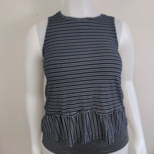 "Load image into Gallery viewer, ""Joe Fresh"" Navy Blue Sleeveless Tank Top (L)"