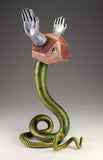 Energy Circulator - Serpent with silver hands *one left
