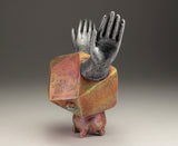 Energy Circulator - copper with silver hands -edition of one