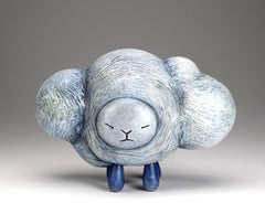 Contemplating Cloud Spirit - with rain *one available