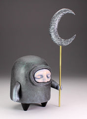 Moon Guardian - with micaceous iron oxide cloak