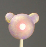 Iridescent Violet Spotted Woot Bear