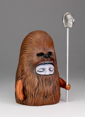Wookiee Clan - Aluminum staff with cast metal C3PO *one available