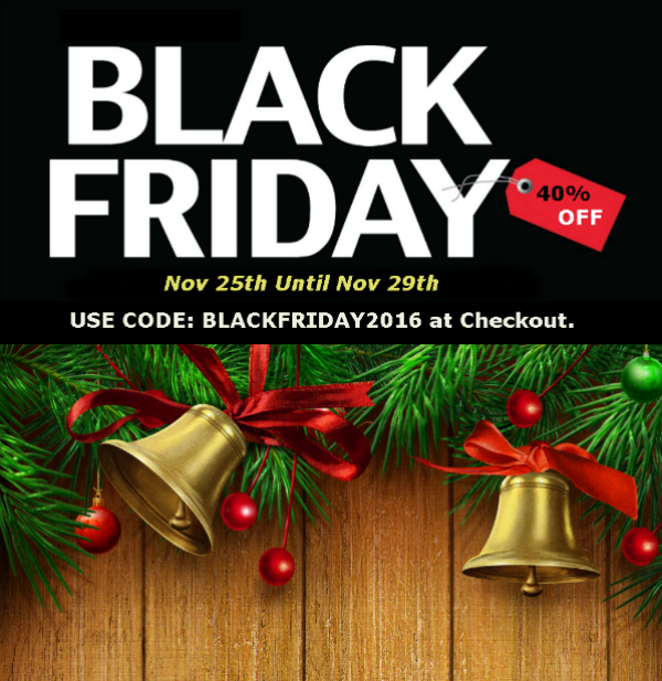 Black Friday & Cyber Monday Promotional Discounts 2016 - Beloved Gift Shop