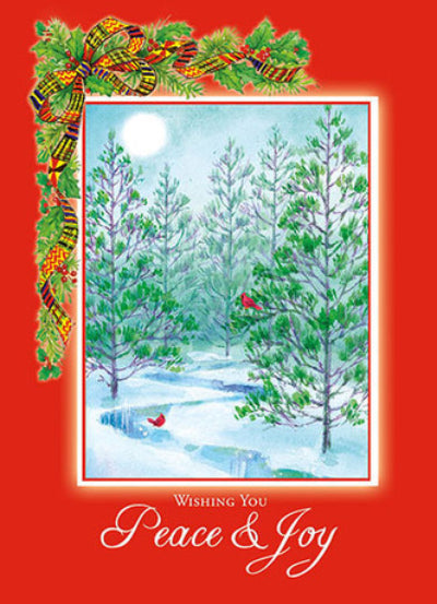 Wishing you Peace and Joy - Carole Joy Christmas Cards by Carole Joy Creations - Beloved Gift Shop