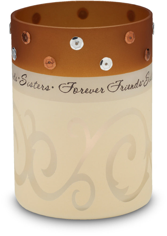 Sisters, Forever Friends Candle Holder