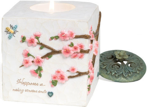 Happiness Candle Holder by Comfort in Bloom - Beloved Gift Shop
