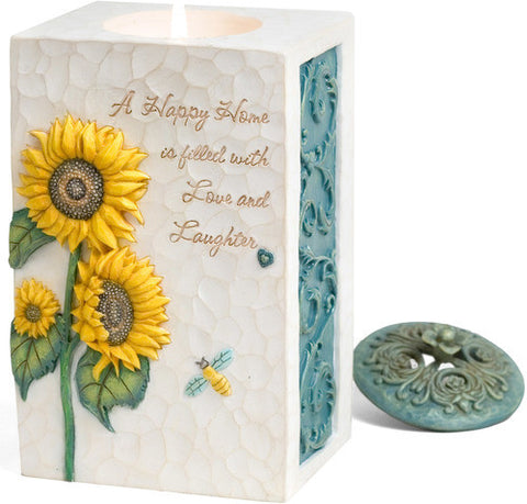 Happy Home Candle Holder by Comfort in Bloom - Beloved Gift Shop
