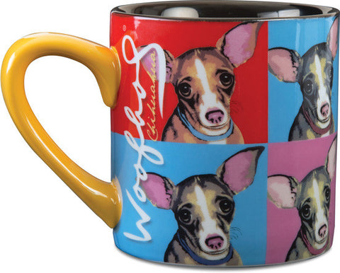 Chihuahua Woofhol Mug by Paw Palettes - Beloved Gift Shop