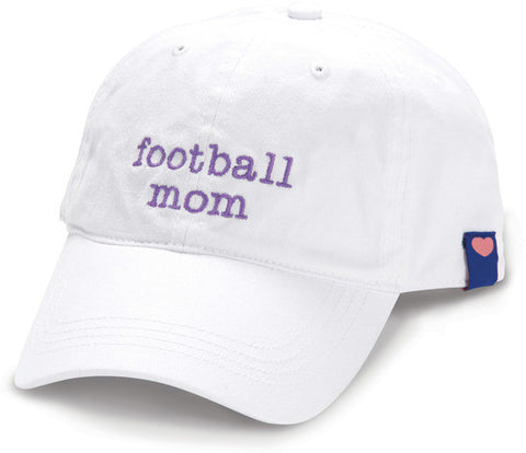 Football Mom Baseball Cap by Mom Love - Beloved Gift Shop