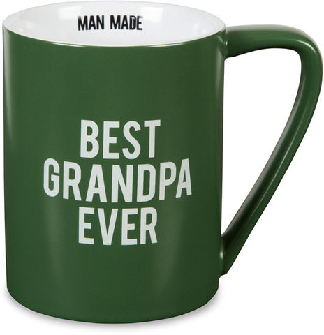Best Grandpa Ever - Coffee & Tea Mug by Man Made - Beloved Gift Shop