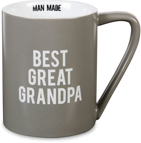 Best Great Grandpa - Coffee & Tea Mug by Man Made - Beloved Gift Shop