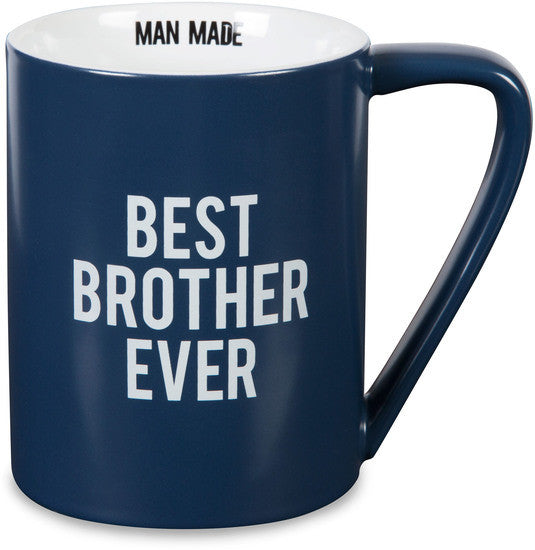 Best Brother Ever - Coffee & Tea Mug by Man Made - Beloved Gift Shop