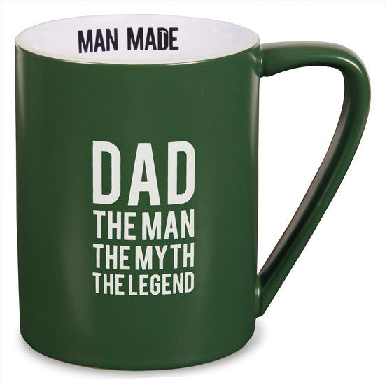 Dad The man, the myth, the legend Coffee Tea Beverage Mug Mug - Beloved Gift Shop