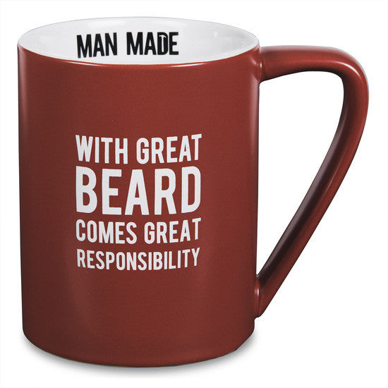 With great beard comes great responsibility Mug Mug - Beloved Gift Shop