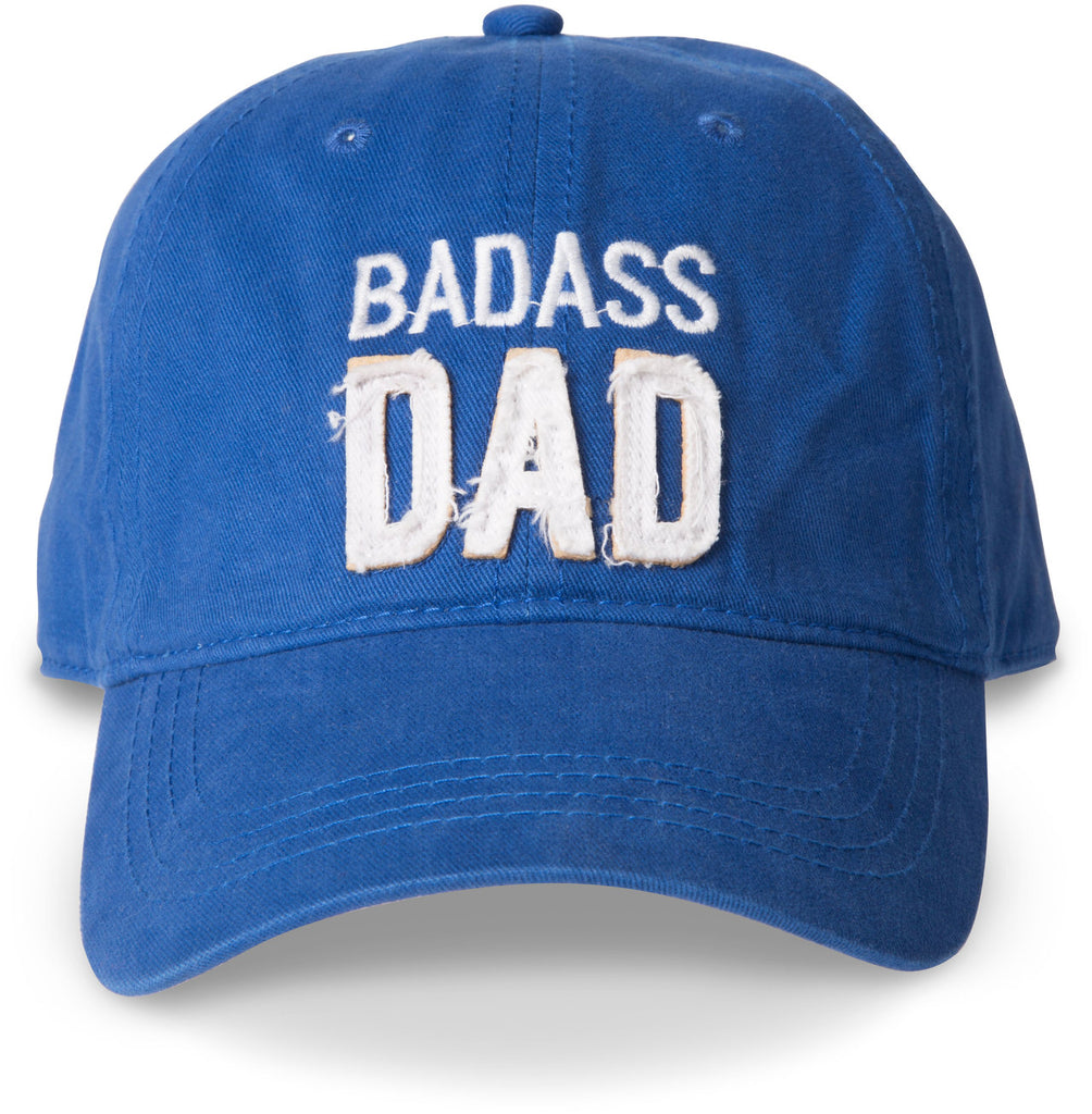 Badass Dad Royal Blue Baseball Hat Baseball Hats - Beloved Gift Shop