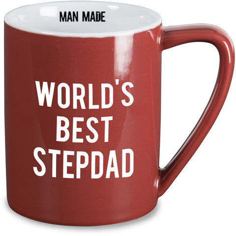 World's best stepdad Mug by Man Made - Beloved Gift Shop
