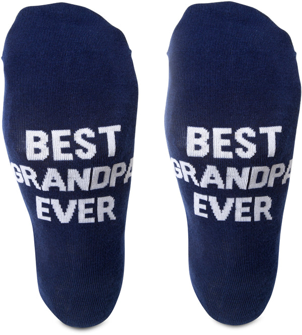 Best grandpa ever Mens Cotton Blend Socks Socks - Beloved Gift Shop