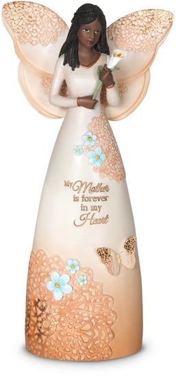 My Mother is forever in my Heart Angel Figurine