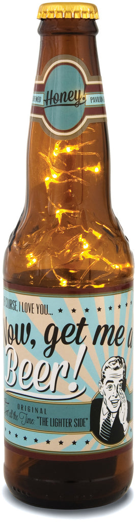 Honey - Beer Bottle Lantern by Beer All The Time - Beloved Gift Shop