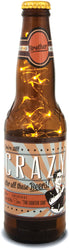 Brother! You're still crazy after all these Beers! 16oz LED Lit Beer Bottle Lantern Lamp