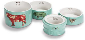 Farm Animals Stacked Measuring Cups Measuring Cups - Beloved Gift Shop