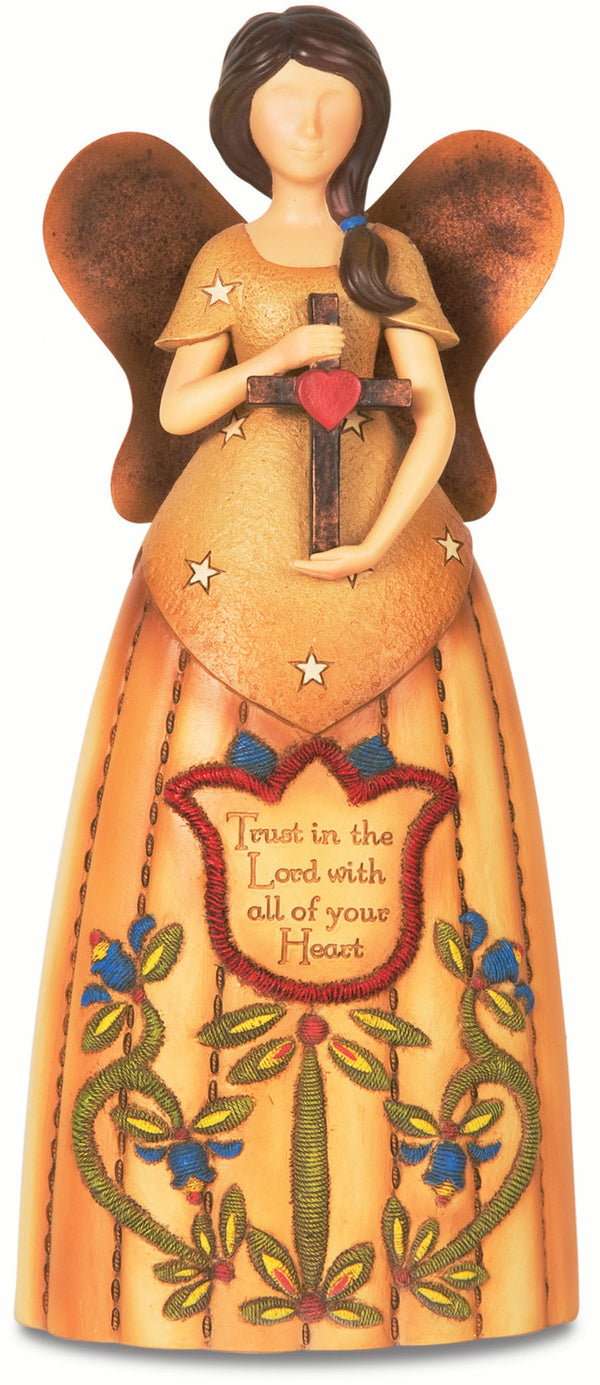 Trust in the Lord with all of your Heart Figurine Angel Figurines - Beloved Gift Shop