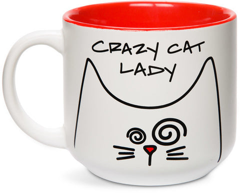 Crazy Cat Lady Coffee & Tea Mug by Blobby Cat - Beloved Gift Shop