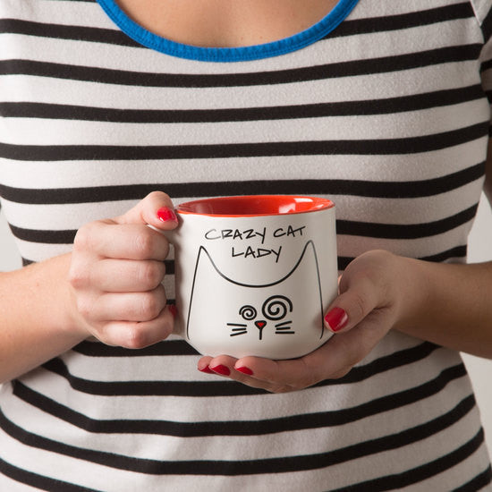 Crazy Cat Lady Mug by Blobby Cat - Beloved Gift Shop